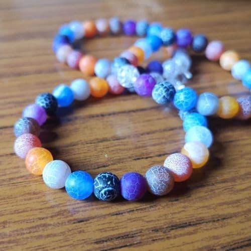 Adults Rainbow Bead Bracelet