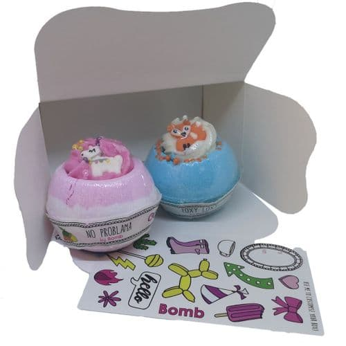 Bath Bomb Duo Gift Pack | Clouds Online