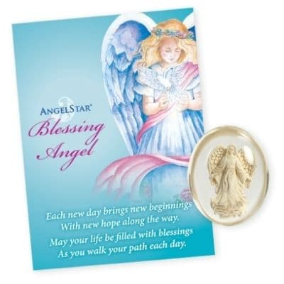 Blessing Angel Worry Stone