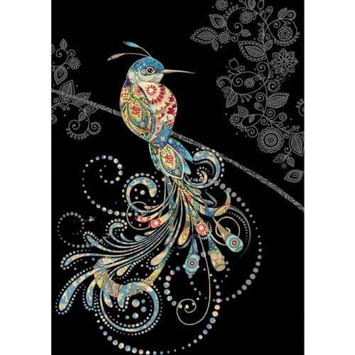 Bug Art Bird of Paradise Greetings Card