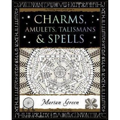 Charms, Amulets, Talismans & Spells Wooden Book
