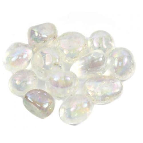 Crystal Aura Quartz Tumblestone