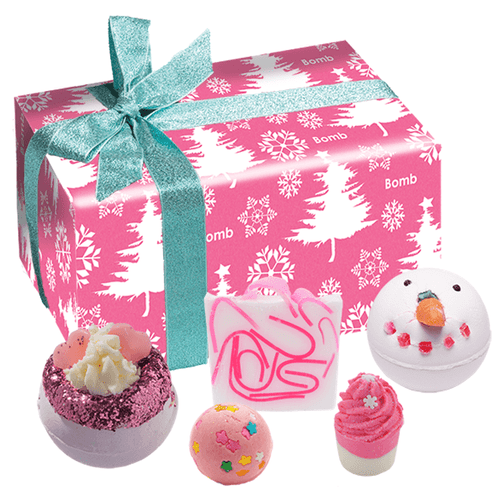 Dreaming Of A Pink Christmas Gift Set
