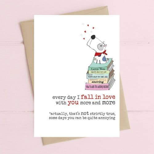 Every Day I Love You Greeting Card