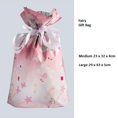 Fairy Drawstring Gift Bag by GiftMate