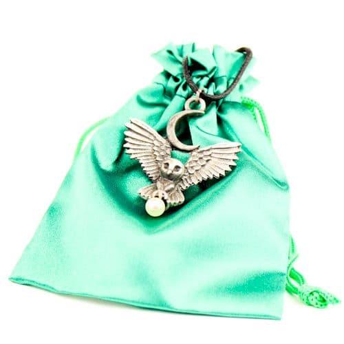 Flight of the Goddess Greenwood Pendant