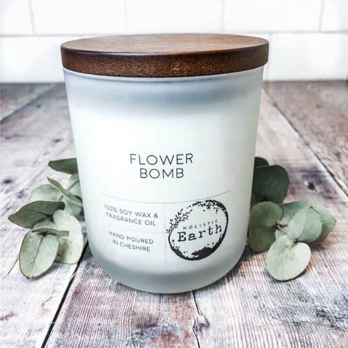 Flower Bomb Candle - Medium