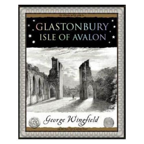 Glastonbury Isle of Avalon Wooden Book