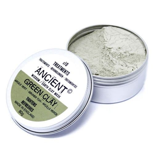 Green Clay Face Mask 80g | Clouds Online UK