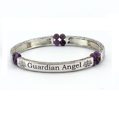 Guardian Angel Sentiment Bracelet
