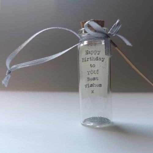 Happy Birthday Positivity Bottle