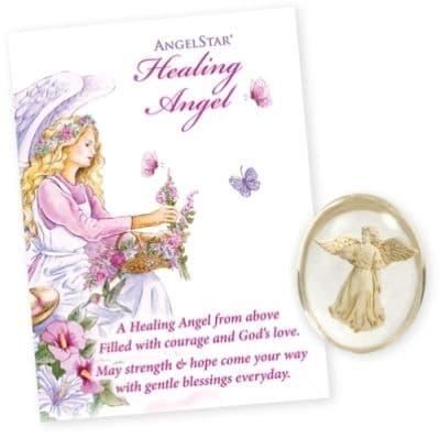 Healing Angel Worry Stone