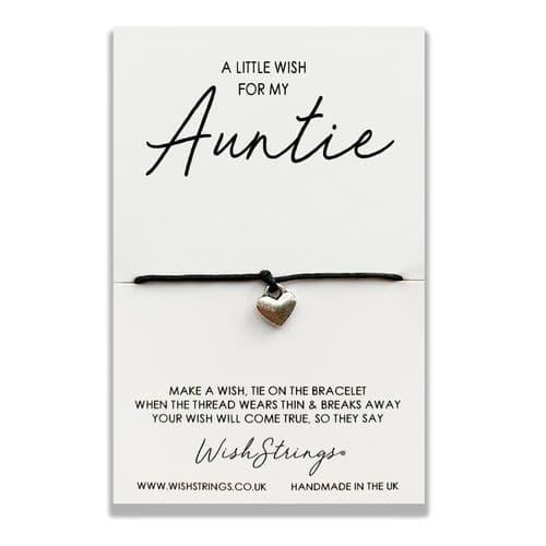 Little Wish Auntie WishStrings Bracelet