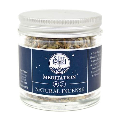 Meditation Hand Blended Incense