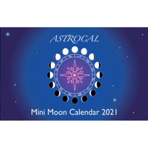 Mini Moon Calendar by Astrocal