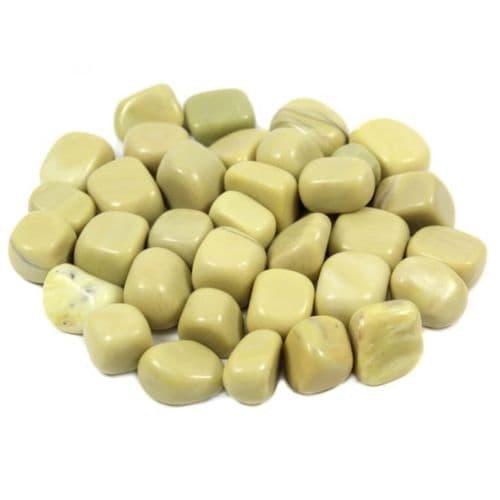 Olive Jade Tumblestone