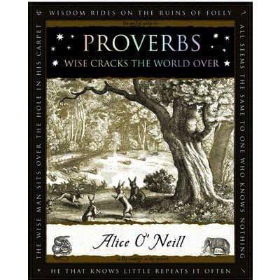 Proverbs Wooden Book
