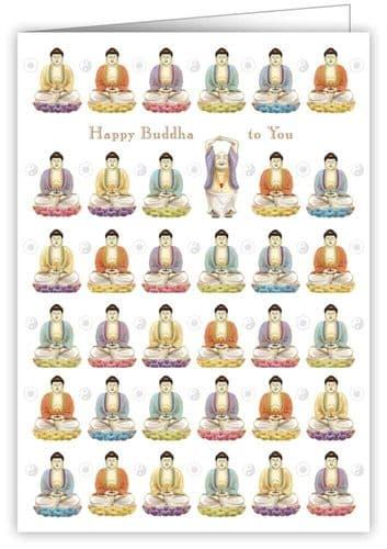 Quire Birthday Buddhas Greeting Card