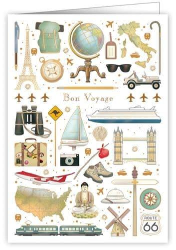 Quire Bon Voyage Greeting Card