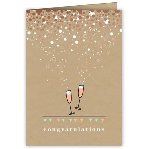 Quire Congratulations Greeting Card