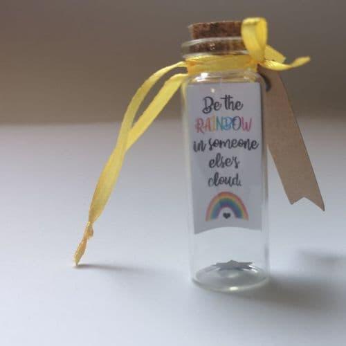 Rainbow Cloud Positivity Bottle