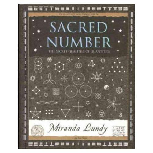 Sacred Number Wooden Book