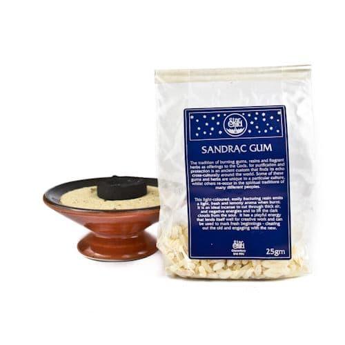 Sandrac Gum Sacred Herb