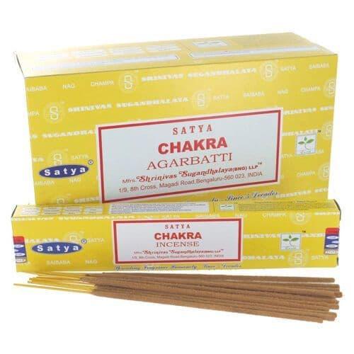 Satya Chakra Incense Sticks - Clouds Online
