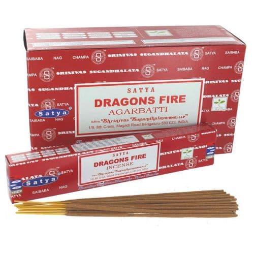 Satya Dragon's Fire Incense Sticks