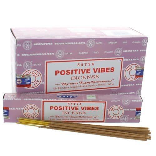 Satya Positive Vibes Incense Sticks
