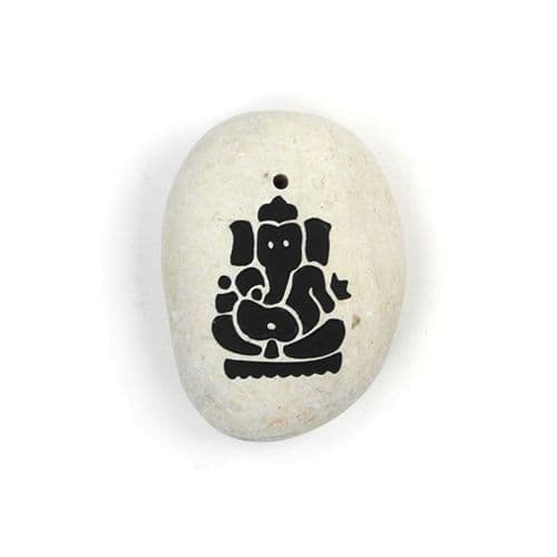 Stone Ganesh Incense Holder