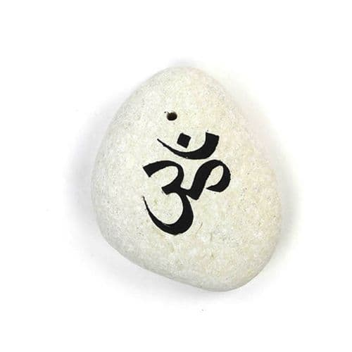 Stone Om Incense Holder