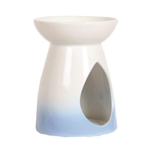 Teardrop Oil Burner - Blue