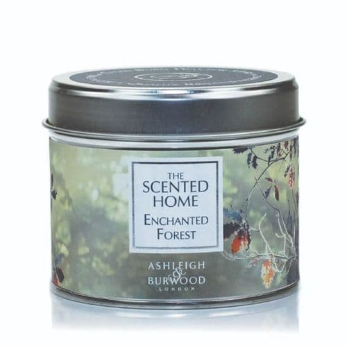 The Scented Home Tin Candle - Enchanted Forest