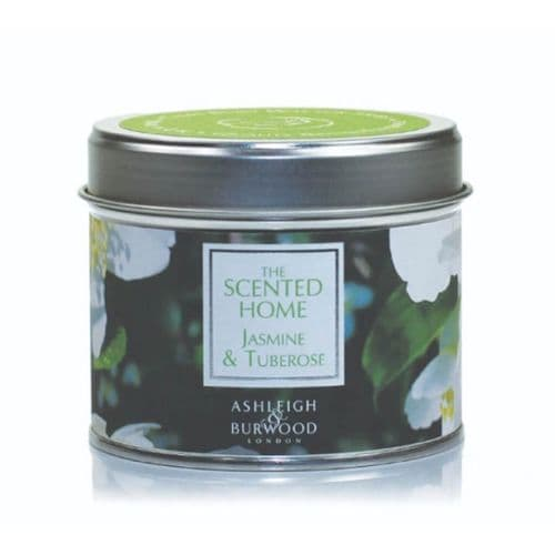 The Scented Home Tin Candle - Jasmine & Tuberose