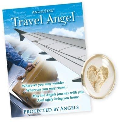 Travel Angel Worry Stone