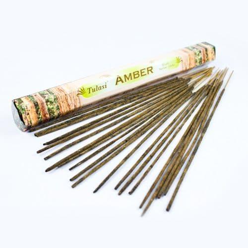 Tulasi Amber Incense Sticks