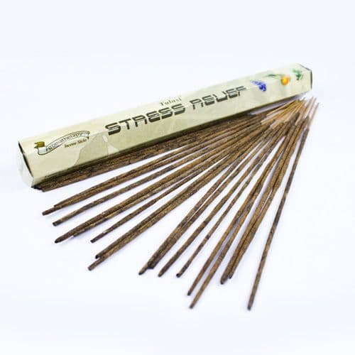 Tulasi Aromatherapy Stress Relief Incense Sticks | Clouds Online