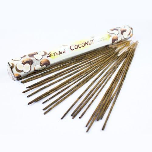 Tulasi Coconut Incense Sticks | Clouds Online