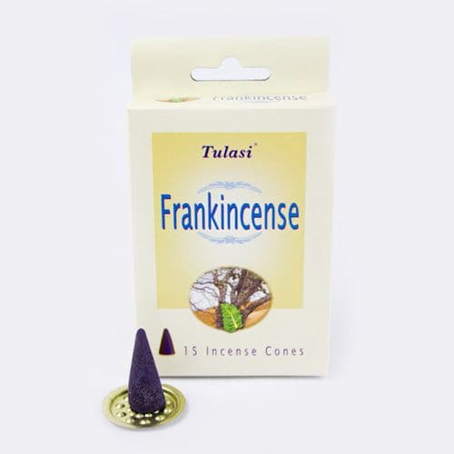 Tulasi Frankincense Incense Cones