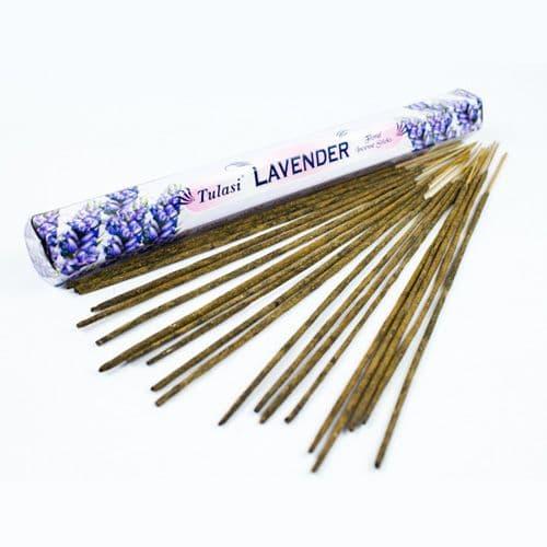 Tulasi Lavender Incense Sticks | Clouds Online