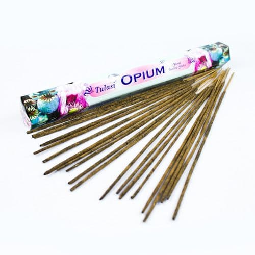Tulasi Opium Incense Sticks | Clouds Online