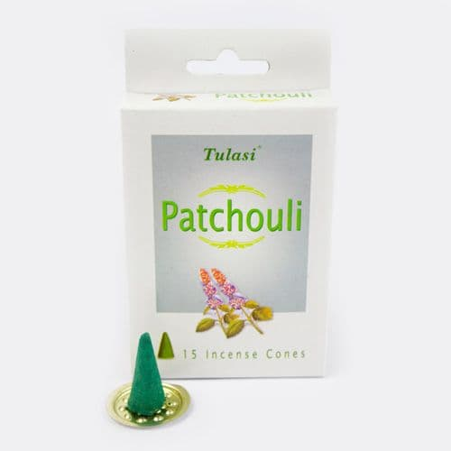 Tulasi Patchouli Incense Cones
