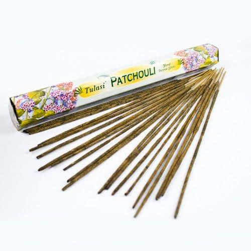 Tulasi Patchouli Incense Sticks | Clouds Online