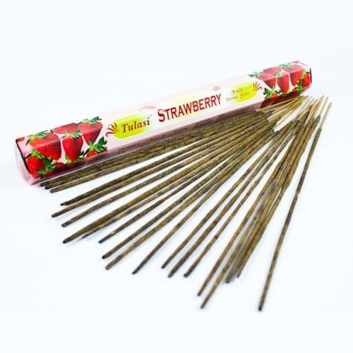 Tulasi Strawberry Incense Sticks