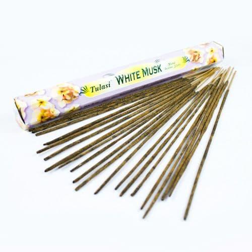 Tulasi White Musk Incense Sticks