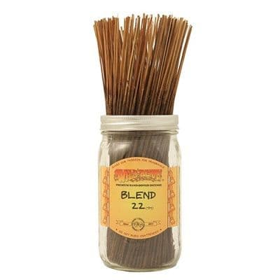 Wildberry 10 inch Blend 22 Incense Sticks