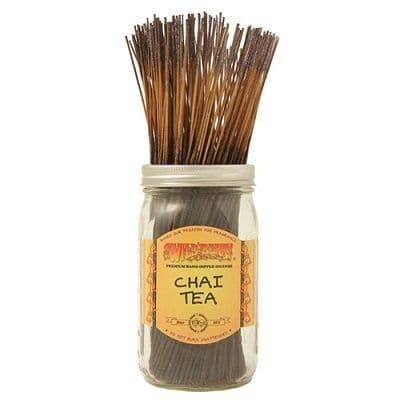 Wildberry 10 inch Chai Tea Incense Sticks