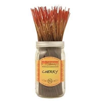 Wildberry 10 inch Cherry Incense Sticks