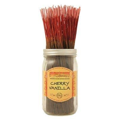 Wildberry 10 inch Cherry Vanilla Incense Sticks